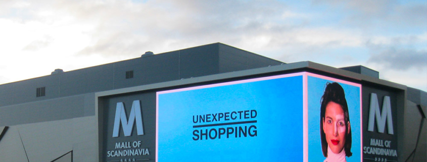 Altoona LED Screen - Mall of Scandinavia - Sweden